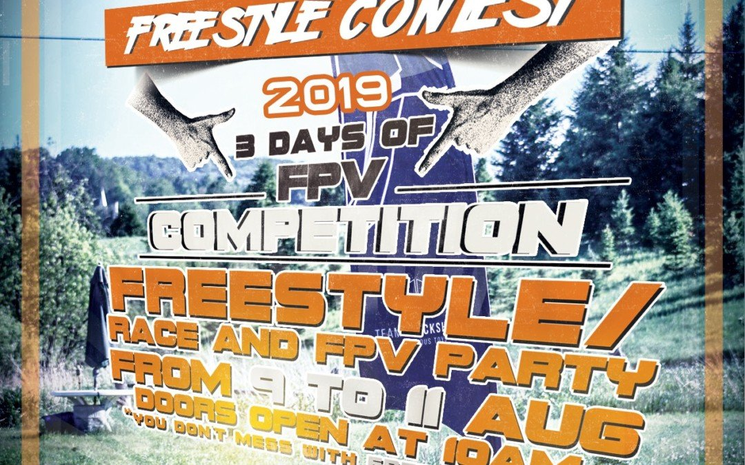 FPV FREESTYLE CONTEST 2019